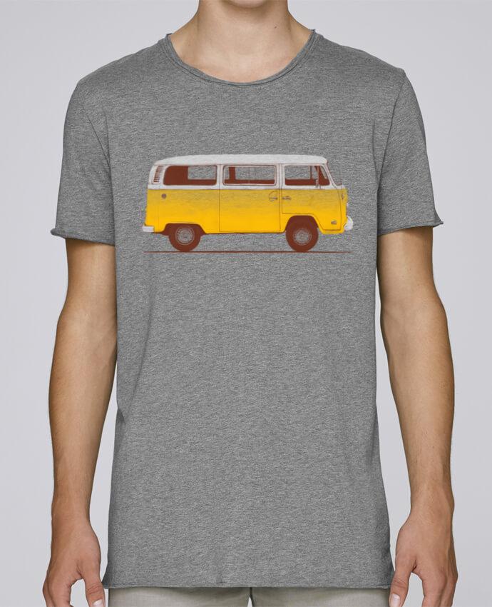 Camiseta Hombre Tallas Grandes Stanly Skates Yellow Van por Florent Bodart