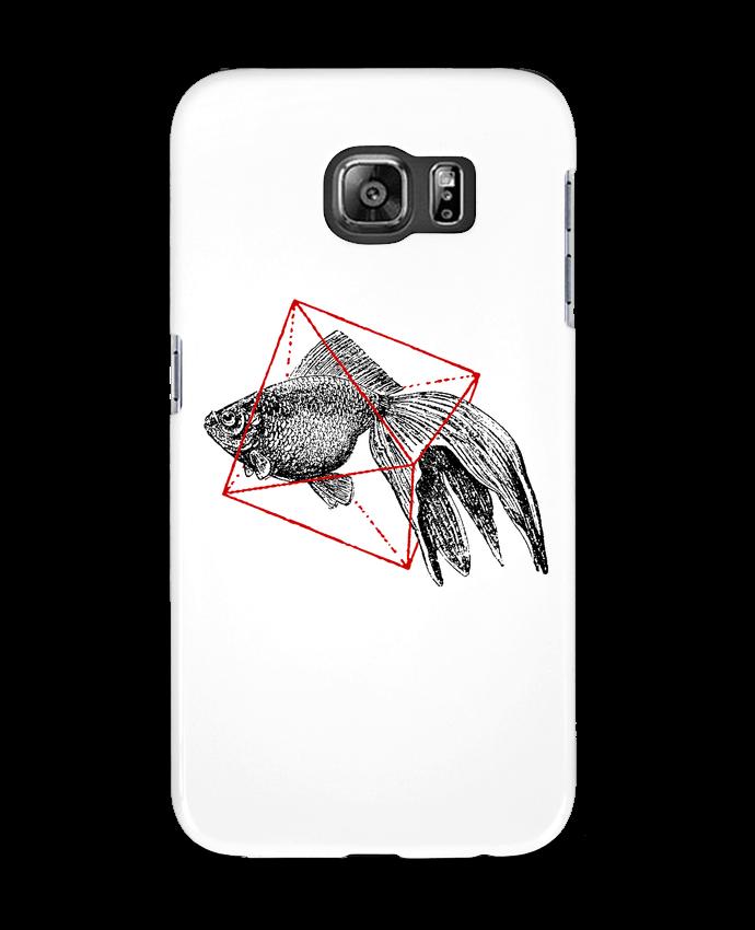 Carcasa Samsung Galaxy S6 Fish in geometrics II - Florent Bodart