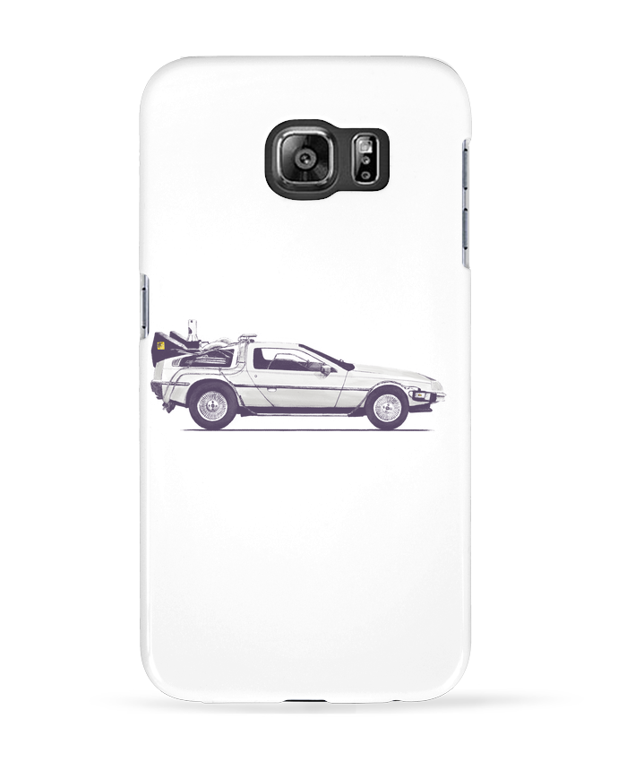 Carcasa Samsung Galaxy S6 Dolorean - Florent Bodart