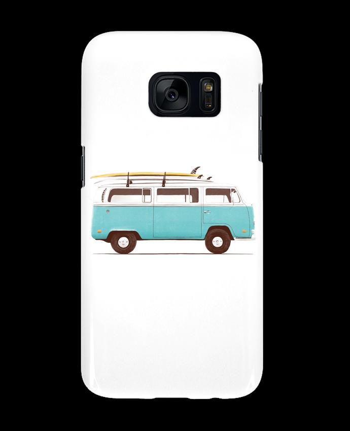Carcasa Samsung Galaxy S7 Blue van por Florent Bodart
