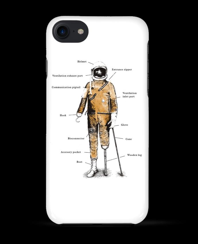 Carcasa Iphone 7 Astropirate with text de Florent Bodart