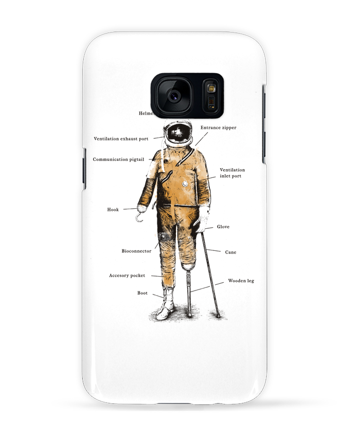 Carcasa Samsung Galaxy S7 Astropirate with text por Florent Bodart