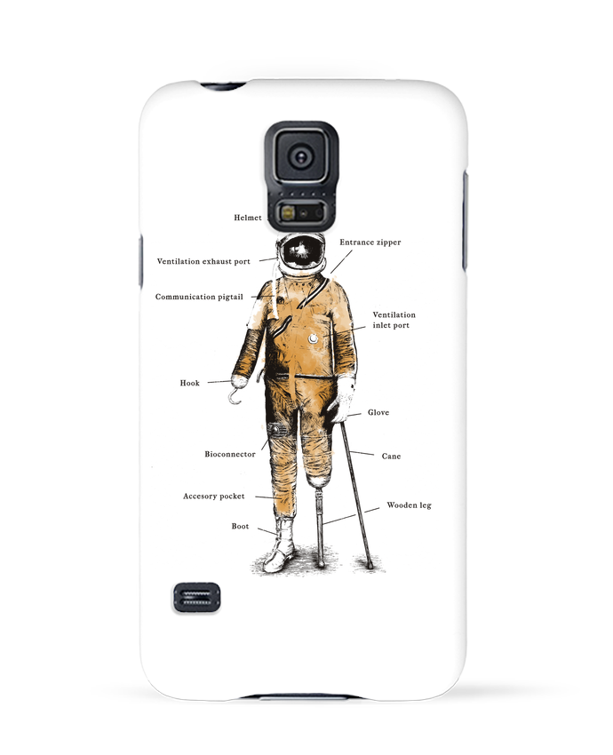Carcasa Samsung Galaxy S5 Astropirate with text por Florent Bodart