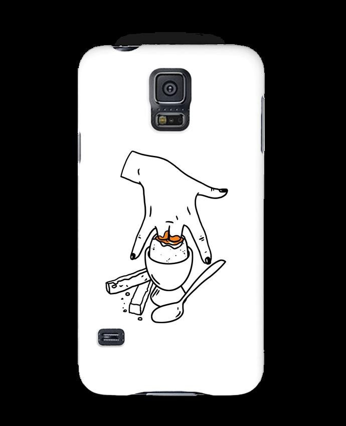 Carcasa Samsung Galaxy S5 Super mouillette ou qui viole un oeuf viole un boeuf por tattooanshort