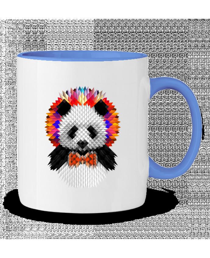 Taza Cerámica Bicolor Panda ali_gulec