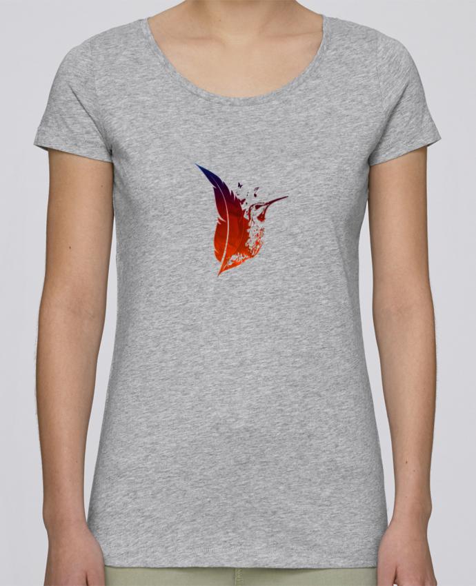 Camiseta Mujer Stellla Loves plume colibri por Studiolupi