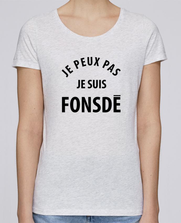 Camiseta Mujer Stellla Loves Je peux pas je suis fonsde por Ruuud