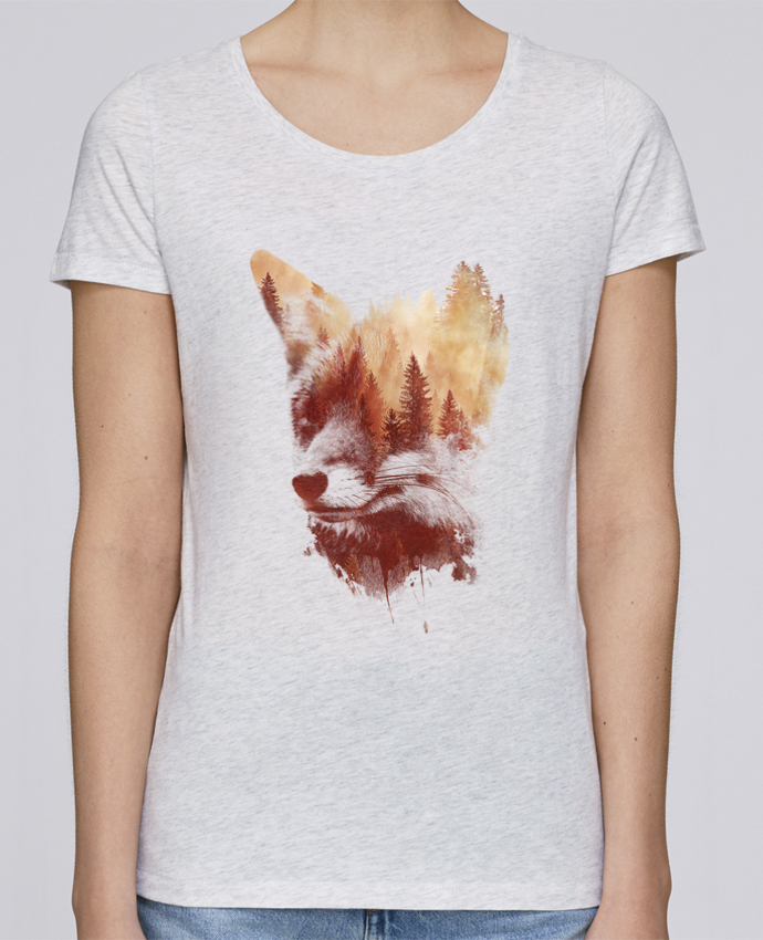 Camiseta Mujer Stellla Loves Blind fox por robertfarkas