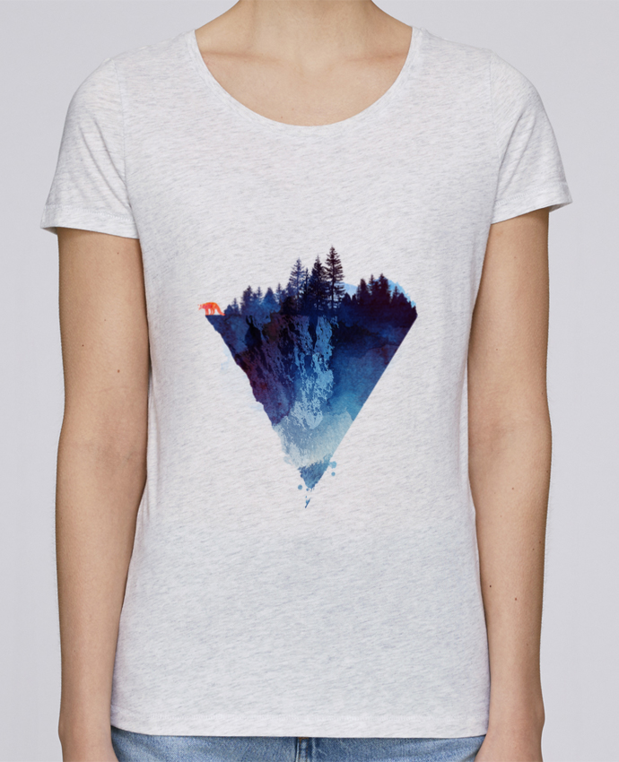 Camiseta Mujer Stellla Loves Near to the edge por robertfarkas