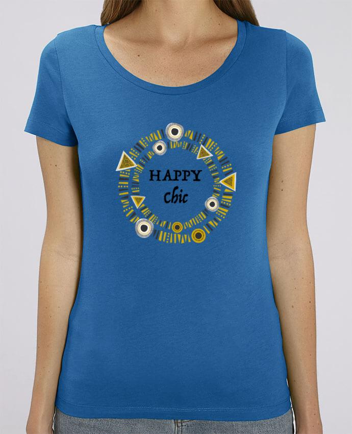 Camiseta Essential pora ella Stella Jazzer Happy Chic por LF Design
