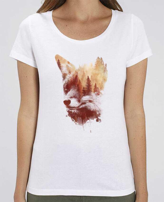 Camiseta Essential pora ella Stella Jazzer Blind fox por robertfarkas