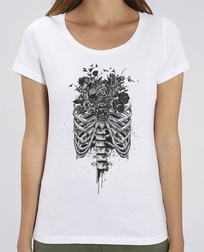 Camiseta Essential pora ella Stella Jazzer New Life por Balàzs Solti