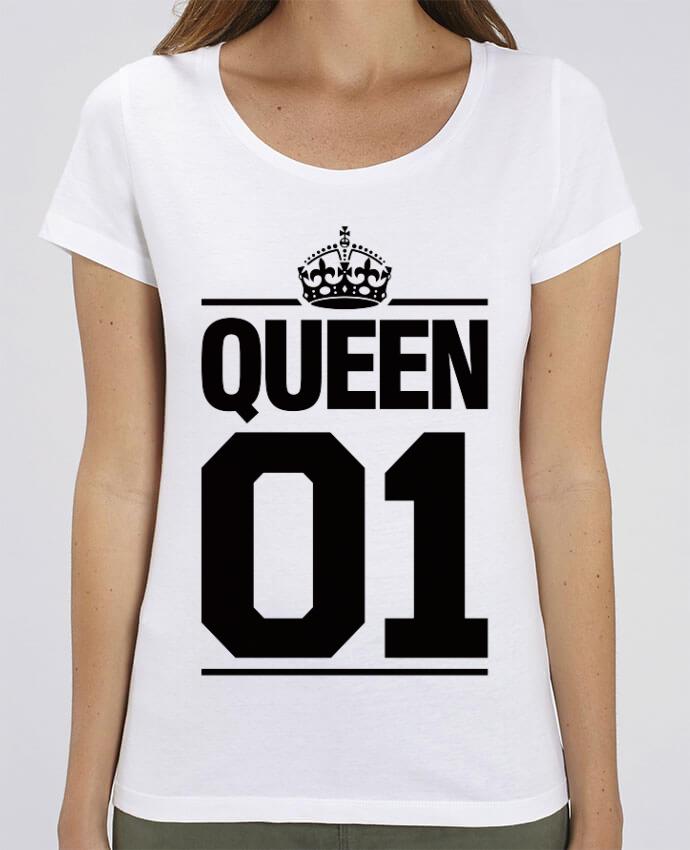 Camiseta Essential pora ella Stella Jazzer Queen 01 por Freeyourshirt.com