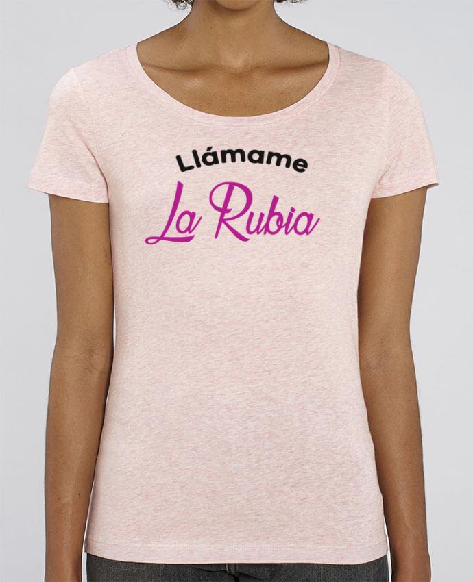 Camiseta Essential pora ella Stella Jazzer Llámame La Rubia por tunetoo