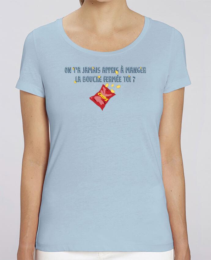 Camiseta Essential pora ella Stella Jazzer Manger la bouche fermée Citation Dikkenek por tunetoo