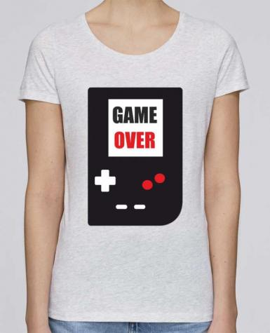 Camiseta Mujer Stellla Loves Game Over Console Game Boy por Benichan