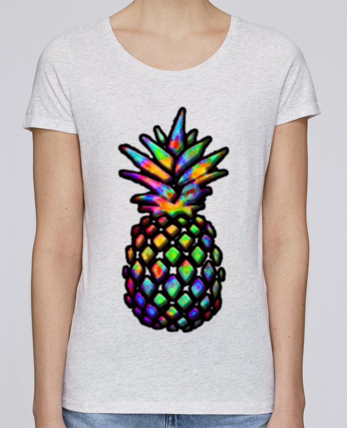 Camiseta Mujer Stellla Loves Colornanas por NotForIA