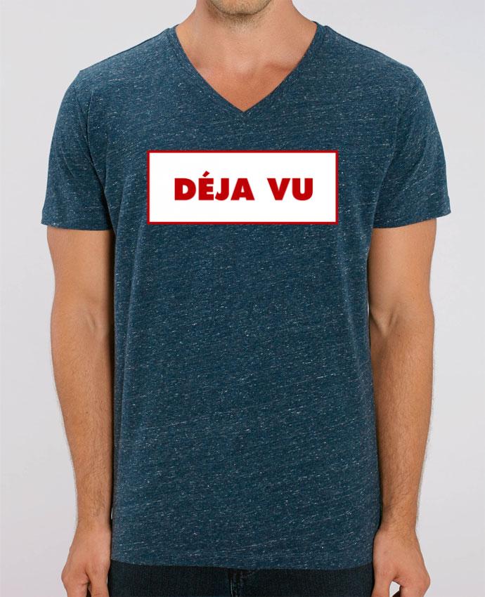 Camiseta Hombre Cuello V Stanley PRESENTER Déjà vu por tunetoo