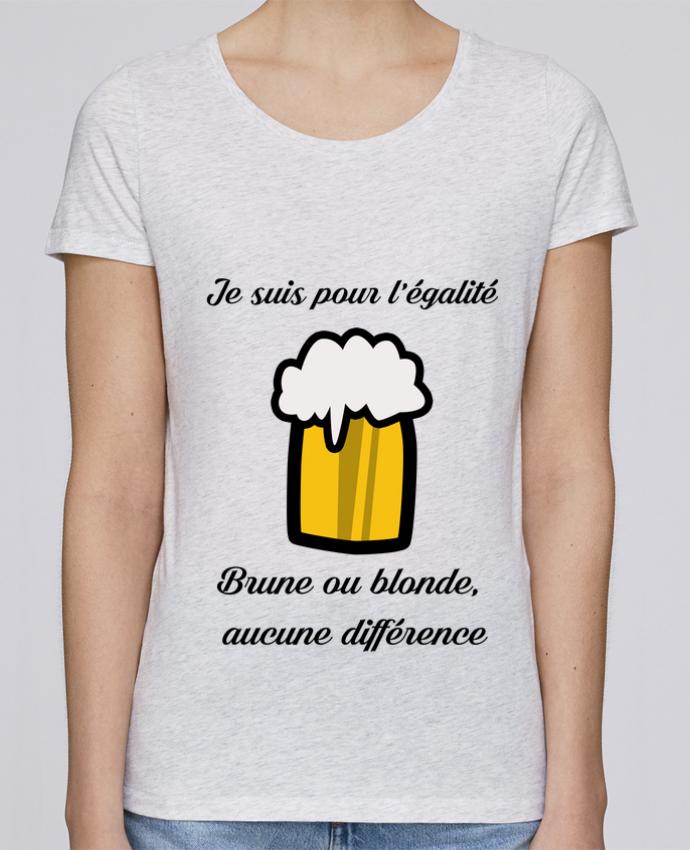 Camiseta Mujer Stellla Loves Je suis pour l'égalité por Kudice