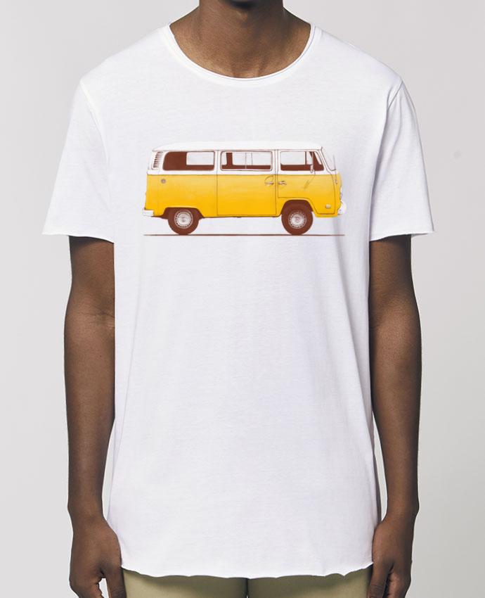 Camiseta larga pora él  Stanley Skater Yellow Van Par  Florent Bodart