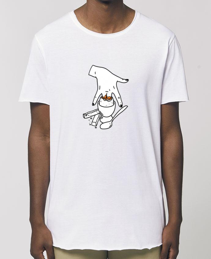 Camiseta larga pora él  Stanley Skater Super mouillette ou qui viole un oeuf viole un boeuf Par  tattooanshort