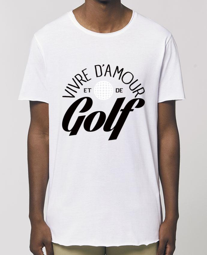 Camiseta larga pora él  Stanley Skater Vivre d'Amour et de Golf Par  Freeyourshirt.com