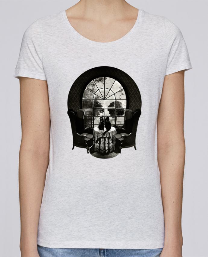 Camiseta Mujer Stellla Loves Room skull por ali_gulec
