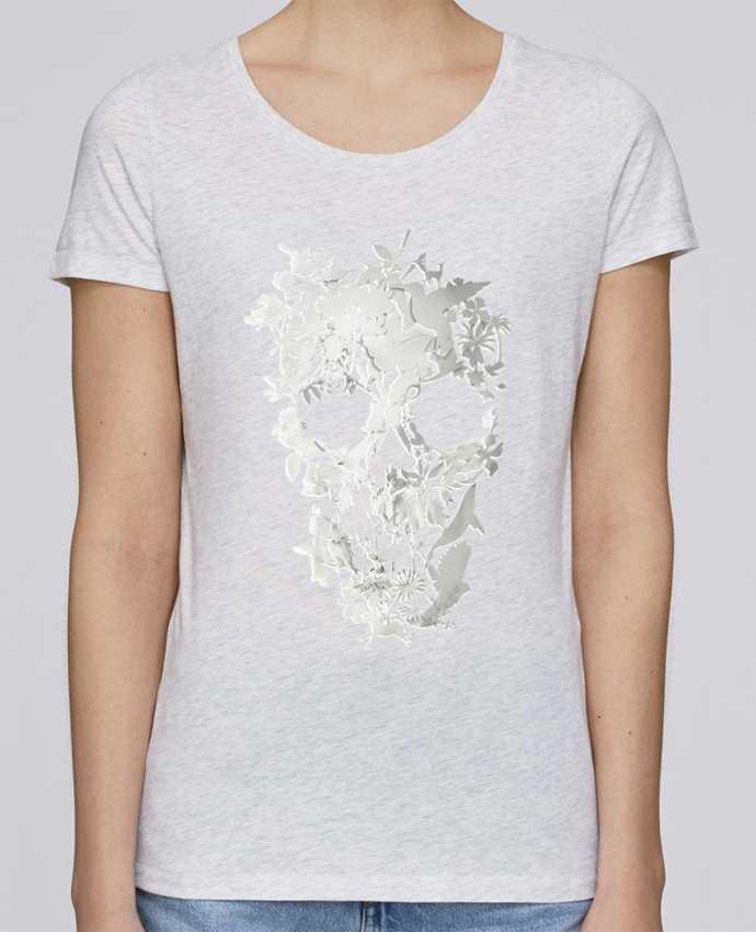 Camiseta Mujer Stellla Loves Simple Skull por ali_gulec