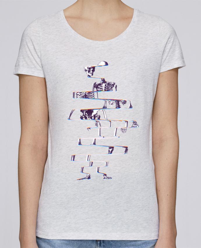 Camiseta Mujer Stellla Loves Skeleton por ali_gulec