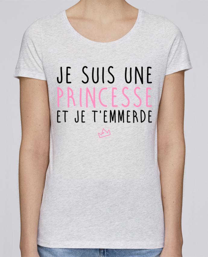 Camiseta Mujer Stellla Loves Je suis une princesse et je t'emmerde por LPMDL