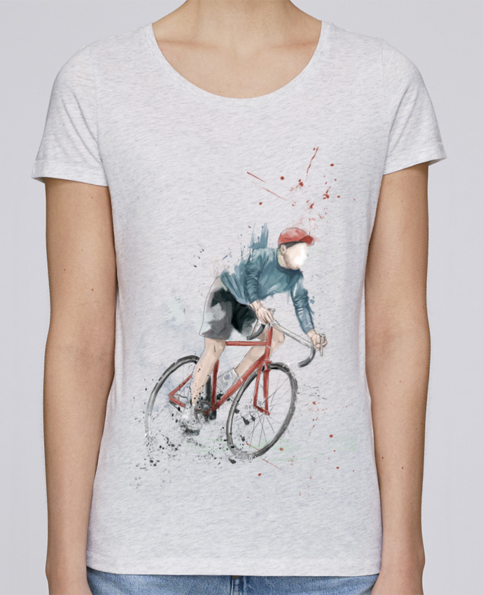 Camiseta Mujer Stellla Loves I want to Ride por Balàzs Solti