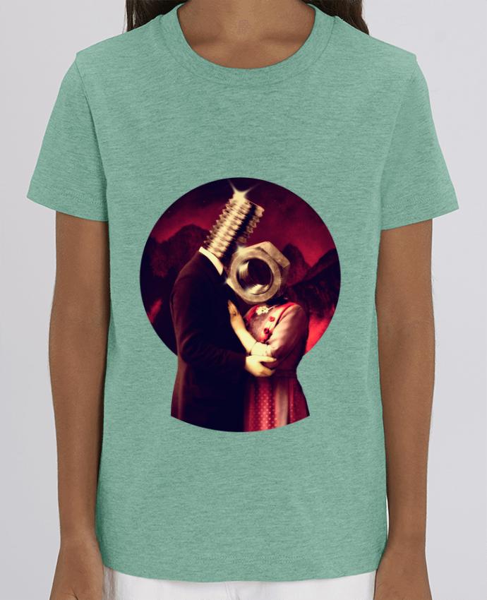 Camiseta Infantil Algodón Orgánico MINI CREATOR Screw Love Par ali_gulec
