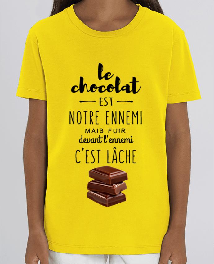 Camiseta Infantil Algodón Orgánico MINI CREATOR chocolat Par DesignMe