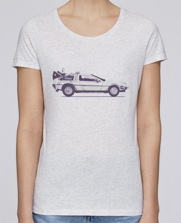 Camiseta Mujer Stellla Loves Dolorean por Florent Bodart