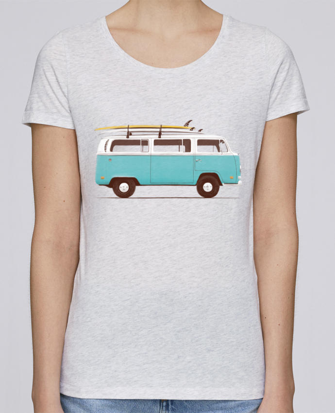 Camiseta Mujer Stellla Loves Blue van por Florent Bodart