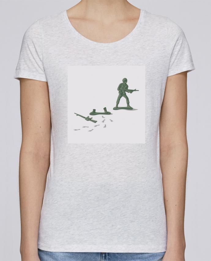 Camiseta Mujer Stellla Loves Deserter por flyingmouse365