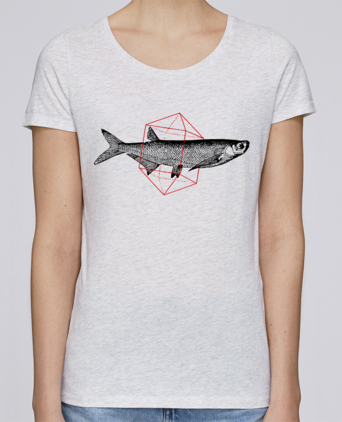 Camiseta Mujer Stellla Loves Fish in geometrics por Florent Bodart