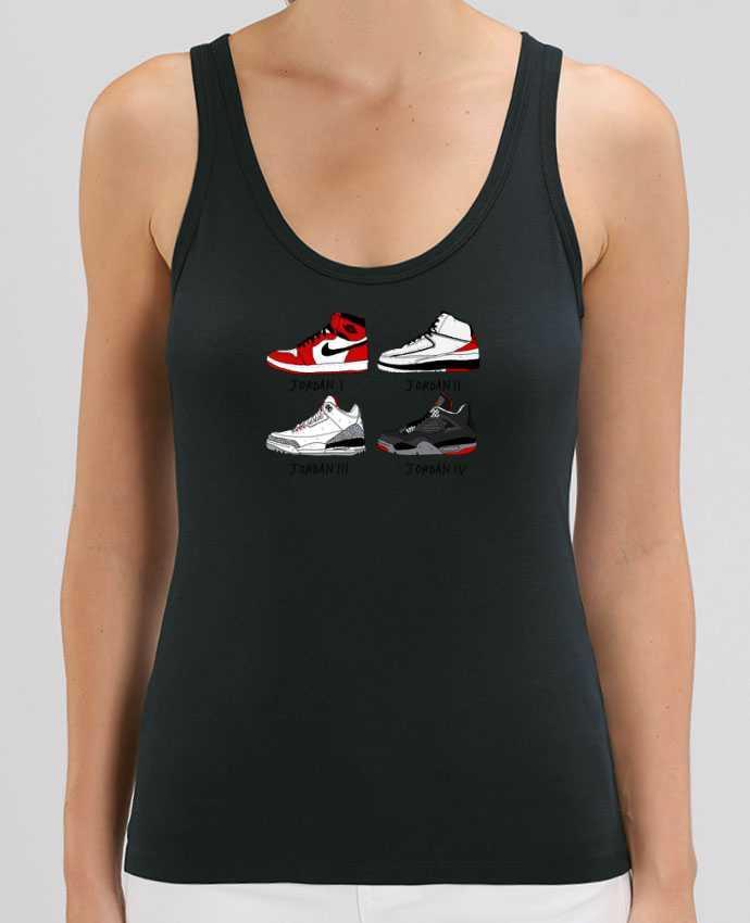 Camiseta de Tirantes  Mujer Stella Dreamer Best of Jordan Par Nick cocozza