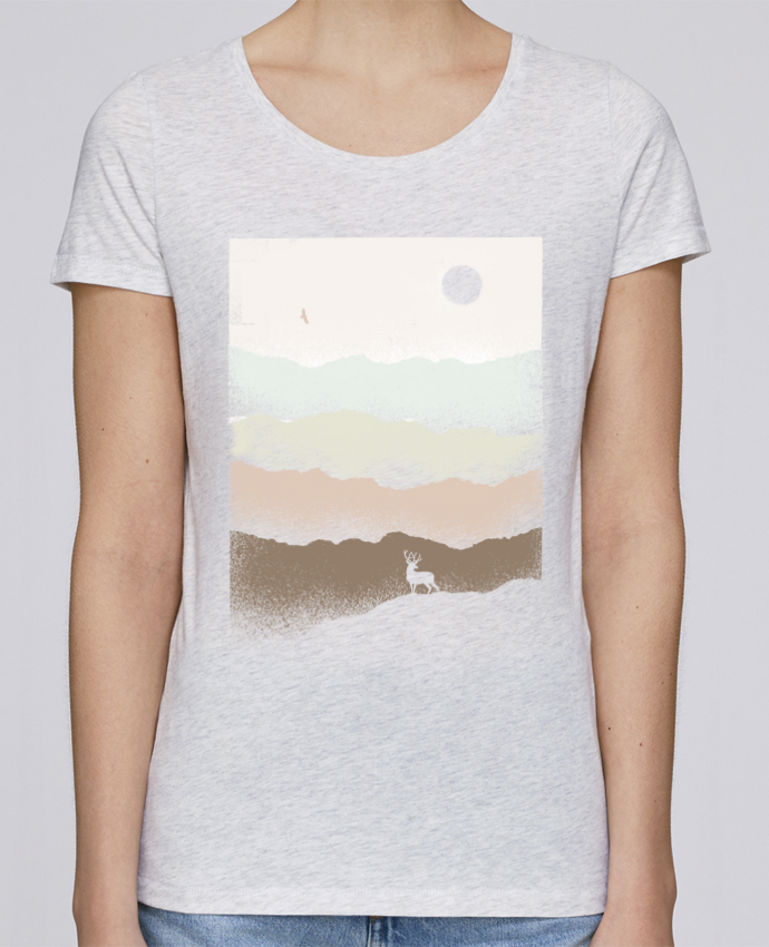 Camiseta Mujer Stellla Loves Quietude por Florent Bodart