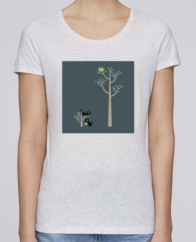 Camiseta Mujer Stellla Loves Growing a plant for Lunch por flyingmouse365