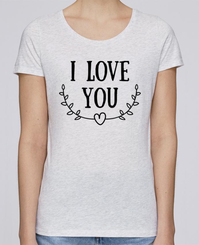 Camiseta Mujer Stellla Loves I love you por tunetoo
