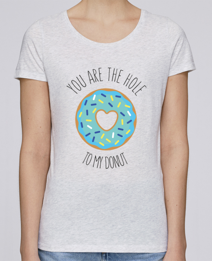 Camiseta Mujer Stellla Loves Donut coeur por tunetoo