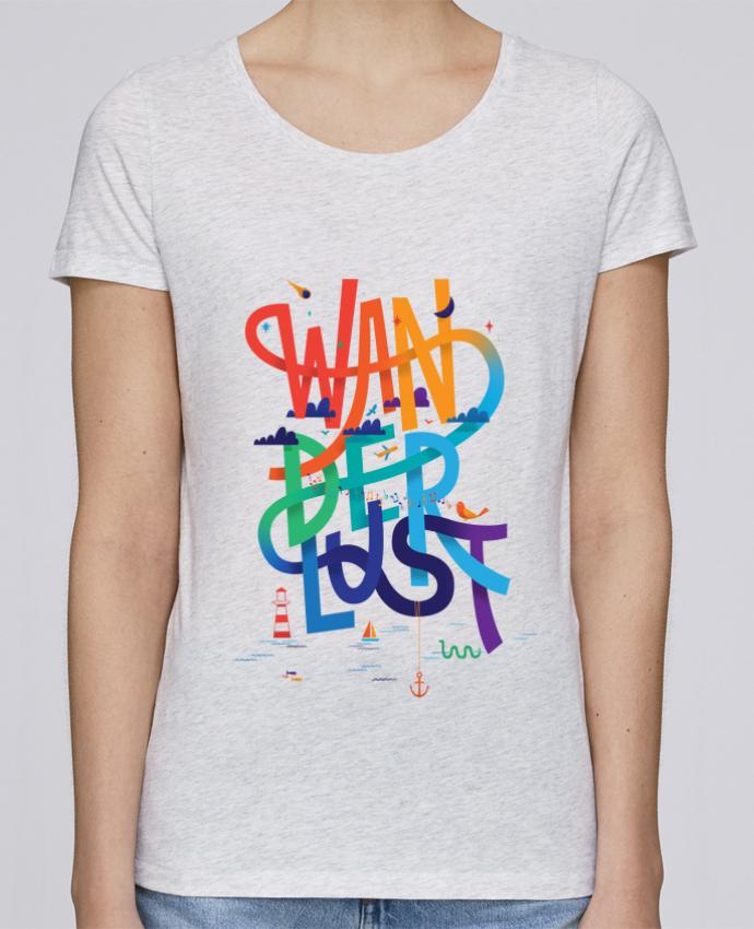 Camiseta Mujer Stellla Loves WanderLust por chriswharton