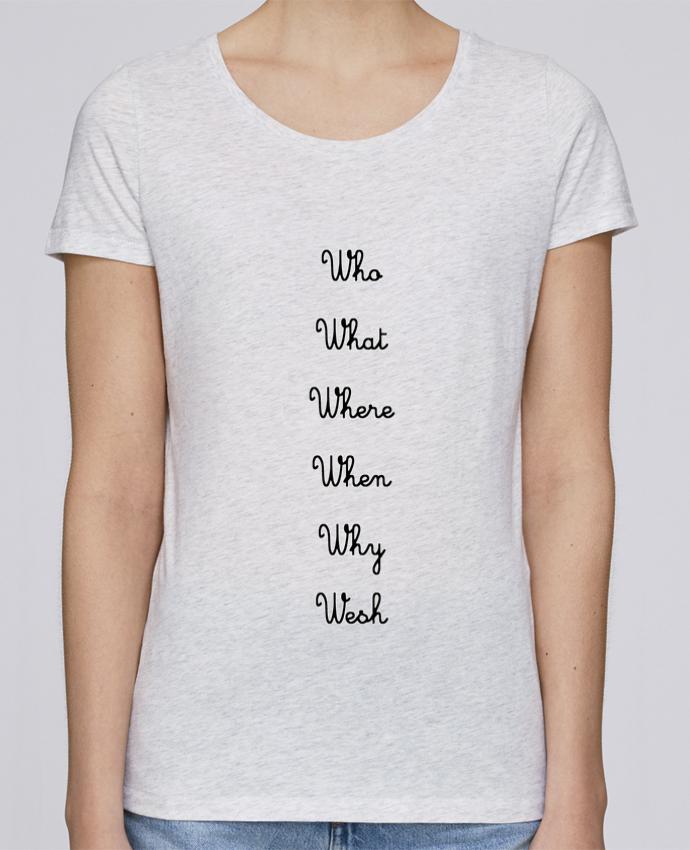 Camiseta Mujer Stellla Loves 5W por tattooanshort