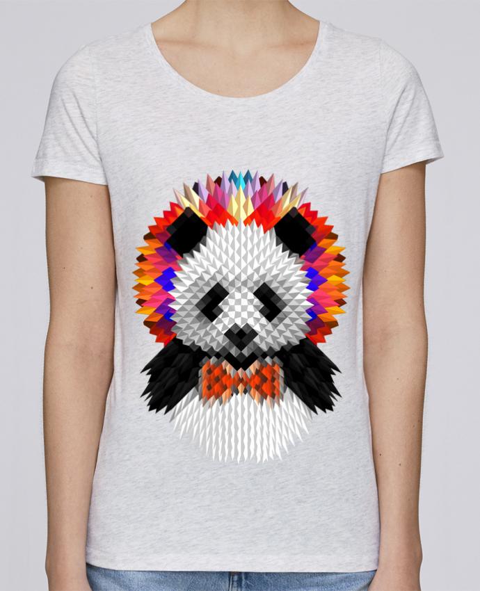 Camiseta Mujer Stellla Loves Panda por ali_gulec