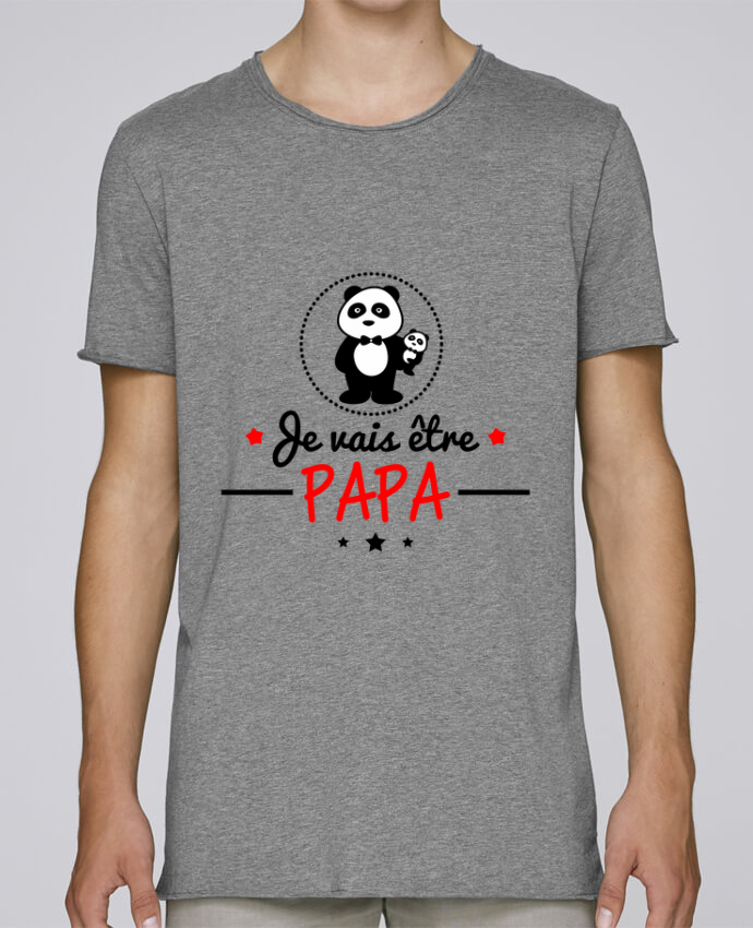 Camiseta Hombre Tallas Grandes Stanly Skates Bientôt papa , Futur père por Benichan