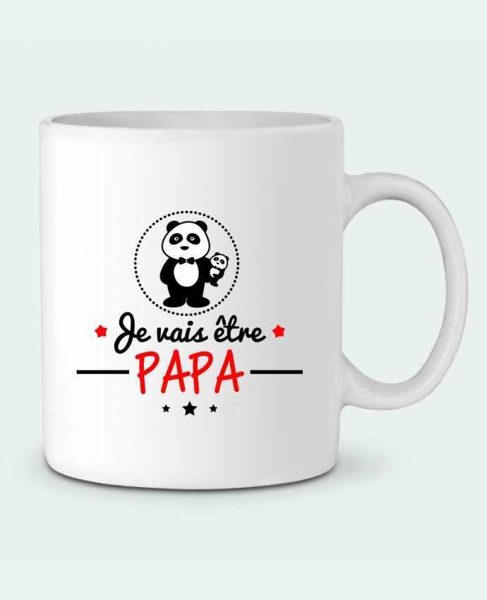 Taza Cerámica Bientôt papa , Futur père por Benichan