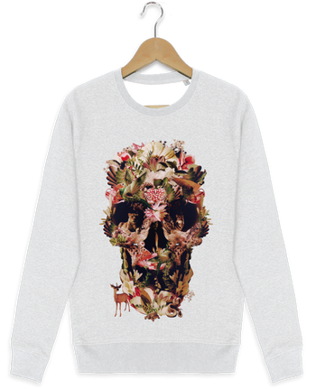Sweat-shirt Stanley stella modèle seeks Jungle Skull por ali_gulec