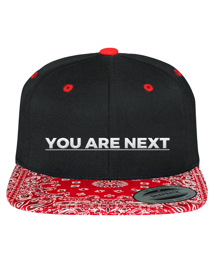 Gorra Snapback Motivo You are next por tunetoo