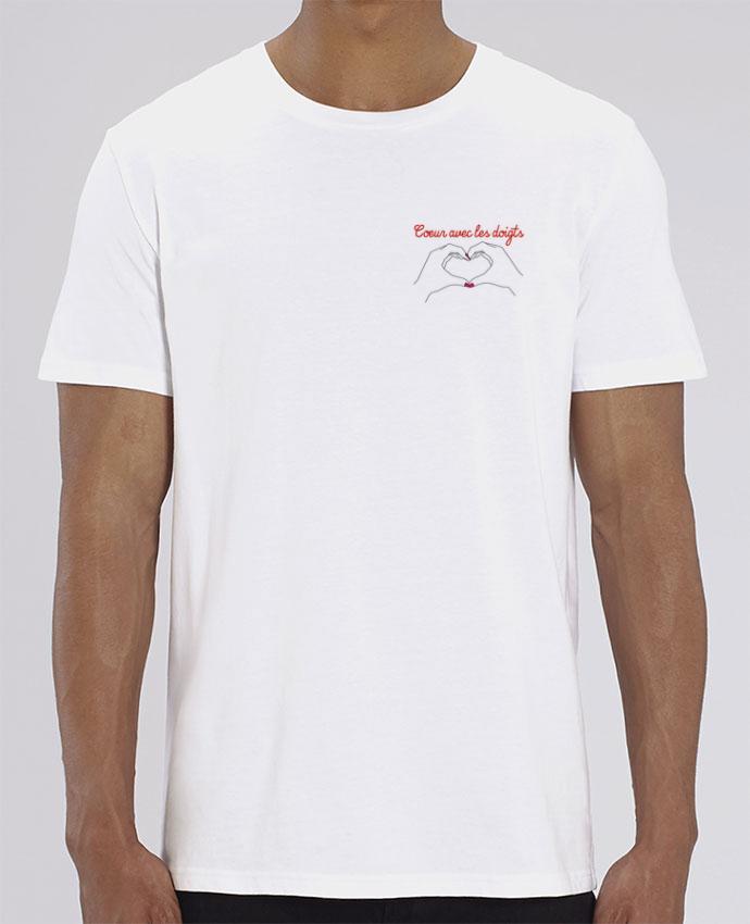 T-Shirt Coeur avec les doigts por WBang